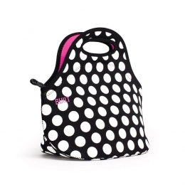 Термосумка Built Gourmet Getaway Lunch Tote Big Dot Black & White 30 х 17 х 29 см (LB31-BBW)