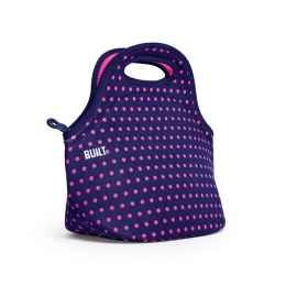Термосумка Built Gourmet Getaway Lunch Tote Mini Dot Navy, 30х17х29 см (LB31-MNV)