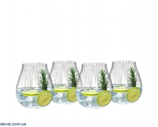 Набор стаканов для джина Riedel GIN SET OPTICAL 762 мл х 4 шт (5515/67)