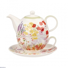 Набор для чаепития Churchill Collier Campbell Painted Garden tea for one (COCA00181)