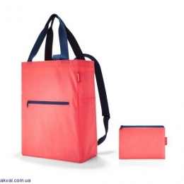 Сумка-рюкзак Reisenthel Mini Maxi 2-In-1 Coral 19 л (AB 3051)